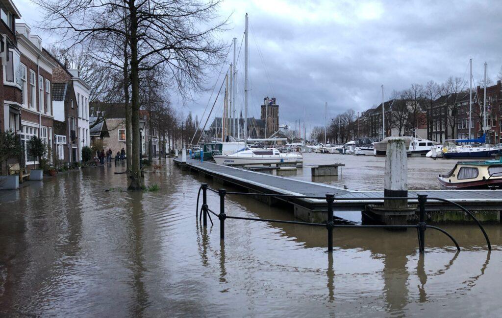 Overstroming Dordrecht.